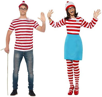 Where's Wally and Wenda Outfits for Adults