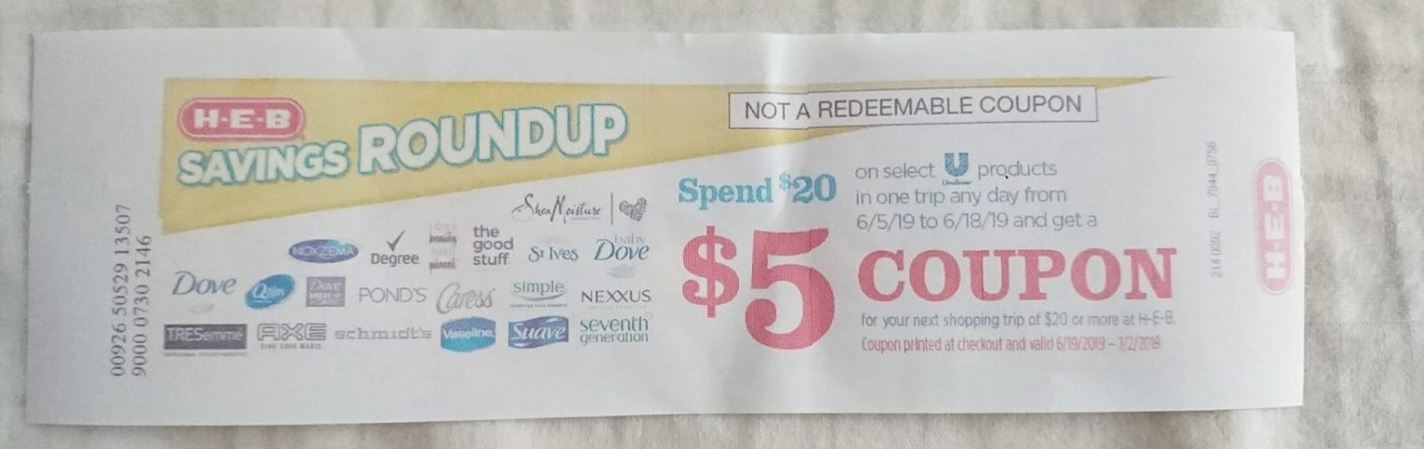 photo relating to Unilever Printable Coupons named Sure Uncommon Unilever Catalina Returns June 5!