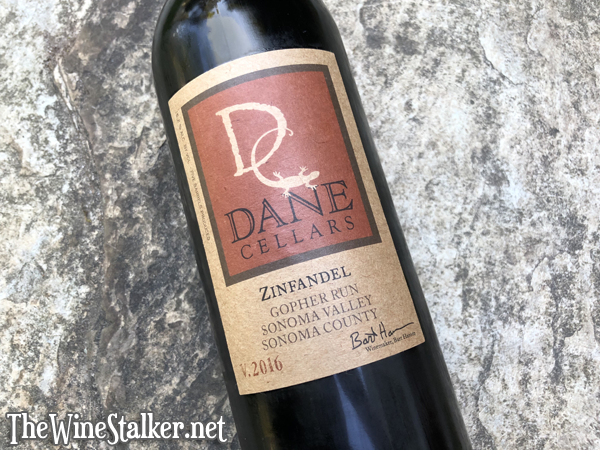 Dane Cellars Gopher Run Zinfandel 2016