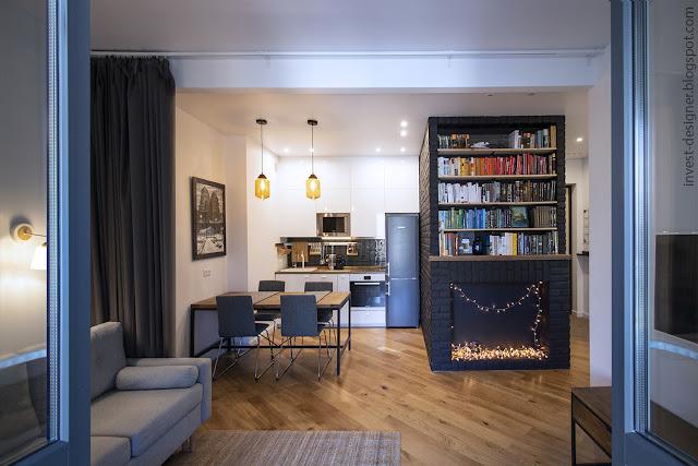 Блог Invest Designer   Ремонт двухкомнатной квартиры 51м2 в новостройке бизнес-класса