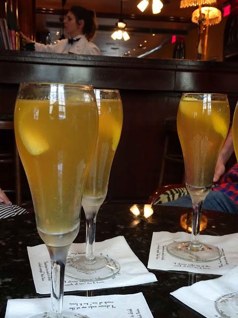 Cocktail citron champagne nouvelle orleans