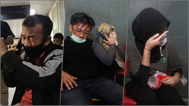 Keluarga Penumpang Sriwijaya Air SJ 182 Histeris di Bandara Supadio Pontianak