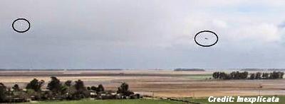 A UFO Over San Francisco de Bellocq (Argentina) 8-26-14