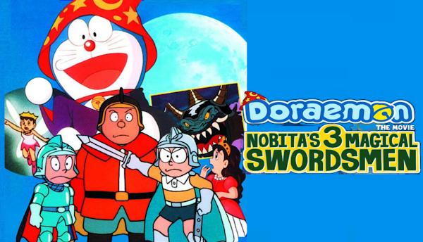 Doraemon: Nobita's Three Visionary Swordsmen Full Movie In Tamil| Remastered HD