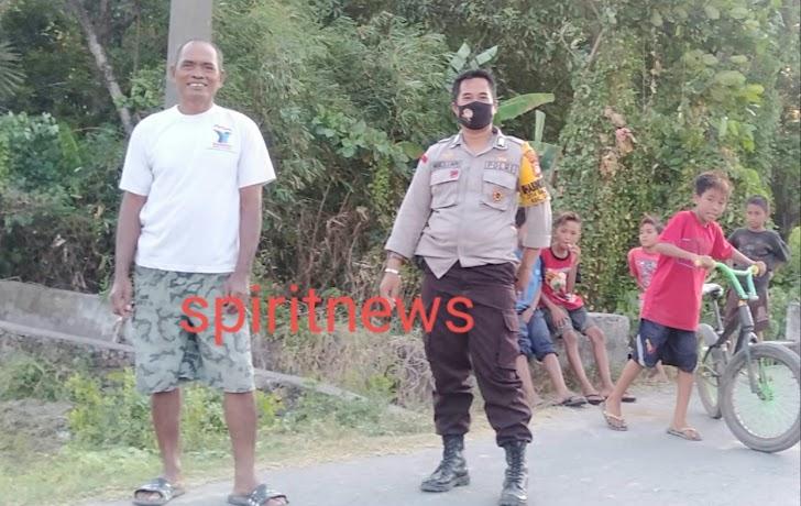 Hadirkan Harkamtibmas Kondusif, Binmas Desa Galesong Baru Polsek Galsel Kunjungi Warga Binaannya