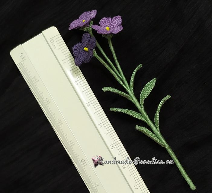 Схемы вязания и пошаговый фото мастер-класс по созданию цветов платикодона (4)