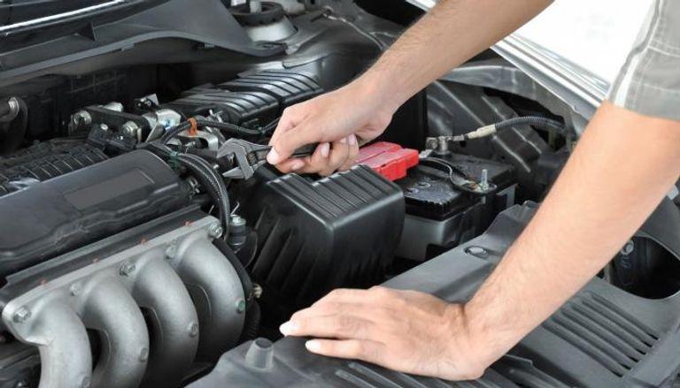 إصلاح اهتزاز محرك السيارة