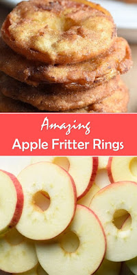 Amazing Apple Fritter Rings