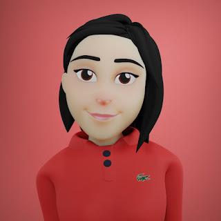 Karakter Nara pada animasi 3D musik dan lagu anak Indonesia Hoala dan Koala