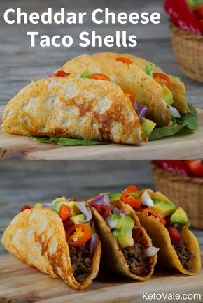 Who said that you cannot eat tacos on keto? This one is a delicious recipe for making really delicious Mexican tacos. We are going to replace the regular flour used to make tortillas with crunchy cheese shells.