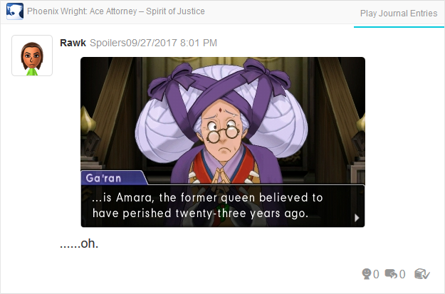 Phoenix Wright Ace Attorney Spirit of Justice Nayna is Amara