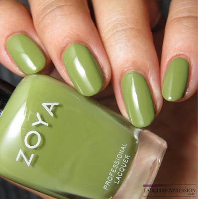 nail polish swatch and review of Zoya Arbor from the summer 2017 Wanderlust collection