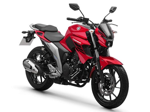 Yamaha Fazer FZ25 ABS 2022 - vermelha