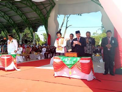 Kakankemenag Tanjungbalai Pimpin Doa HUT Kemerdekaan RI Ke-74