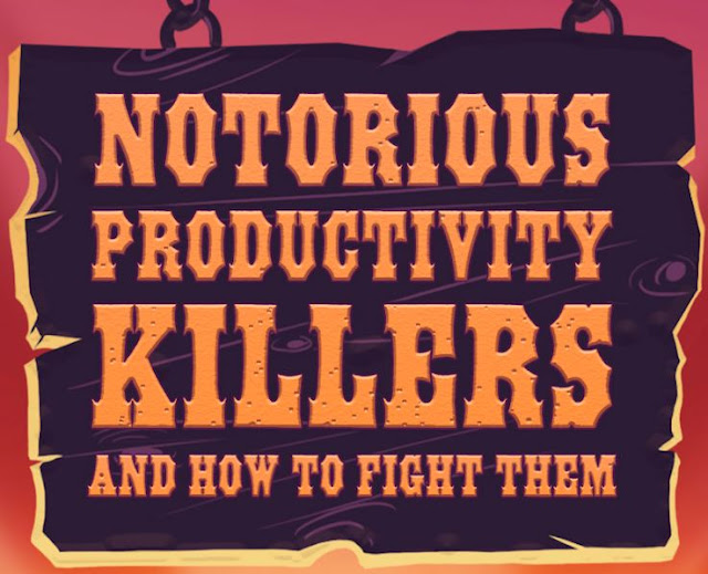 notorious productivity killers how to fight them infographic wrike agile project management tools