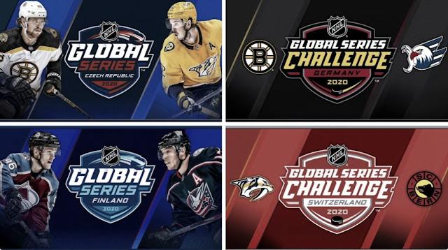 HOCKEY HIELO - Las NHL Global Series de 2020 quedan canceladas