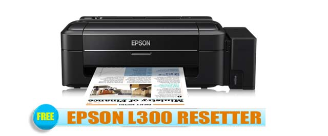 Epson L300 Adjustment Program
