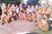 """""""Viral"""" Beredar Video dan Foto Sekelompok Orang Berbaju Dinas Bukber bersama Calon Kades di Tangerang Sekaligus Kampanye"""