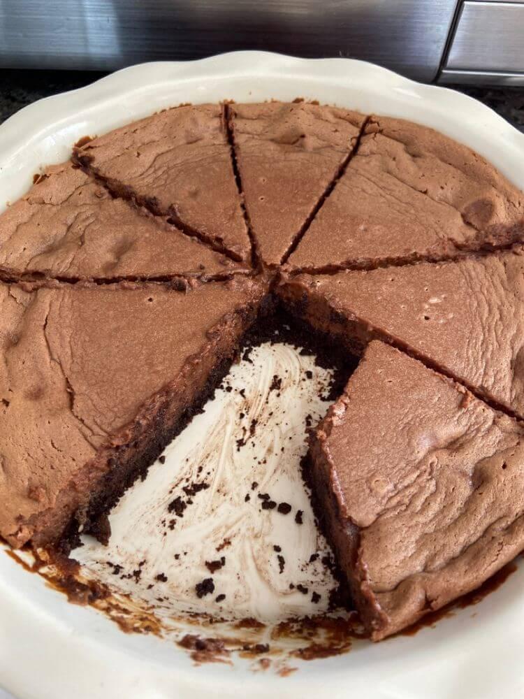 Sweetened Condensed Milk Chocolate Pie