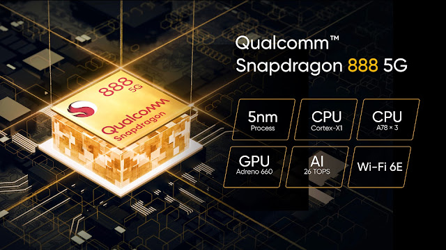 Realme GT Equipped with Snapdragon 888 5G Processor