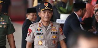 Komjen Idham Aziz Calon Tunggal Kapolri