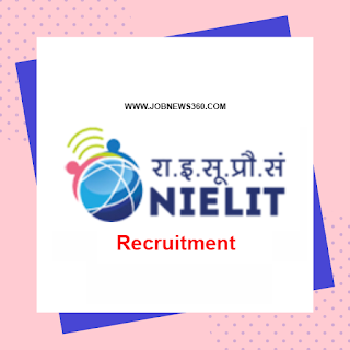 NIELIT Chennai Walk-IN 6th Nov 2019 for Project Associate