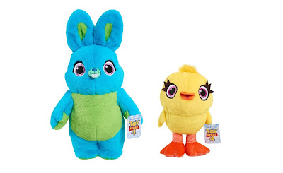 San Diego Comic-Con 2019 Toy Story 4 Ducky and Bunny Jumbo Two Piece Plush Set by UCC Distributing