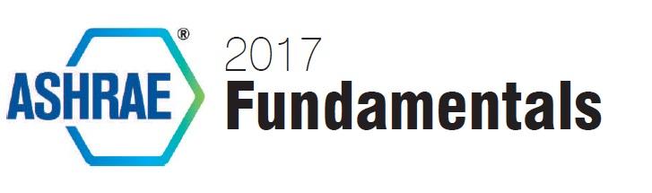 2017 Ashrae Fundamental Handbook