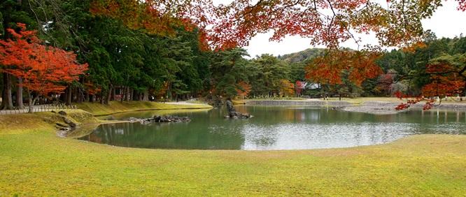 วัดโมสึจิ (Motsuji Temple: 毛越寺) @ www.motsuji.or.jp