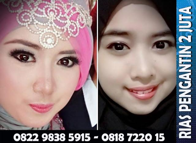 Gambar Rias Pengantin Muslim  2 Juta Jakarta Bekasi Depok