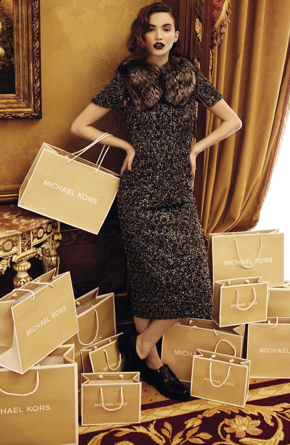 Dalia Gunther wearing Michael Kors for It List! / Glamour Italia October 2015 (photography: Andoni & Arantxa, styling: Edoardo Marchiori) via www.fashionedbylove.co.uk