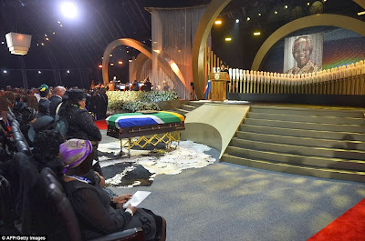 article 2523695 1A1DC92100000578 132 964x638 Photos from Nelson Mandelas funeral
