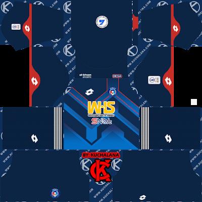 Sabah FC Kits 2021 -  DLS2019 Kits
