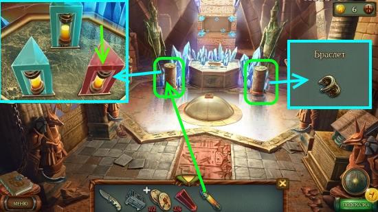 берем браслет и меняем неисправную капсулу в игре наследие 3 дерево силы