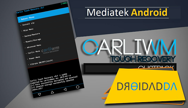 Carliv Touch Recovery 5.7.9 & 5.3.5 For Mediatek Devices (Kitkat Only)