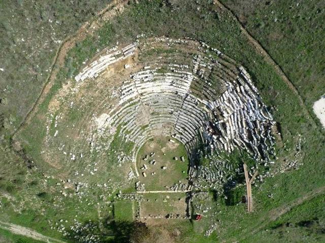 Θεσπρωτία: Το «κρυμμένο» αρχαίο θέατρο των Γιτάνων (+ΒΙΝΤΕΟ)