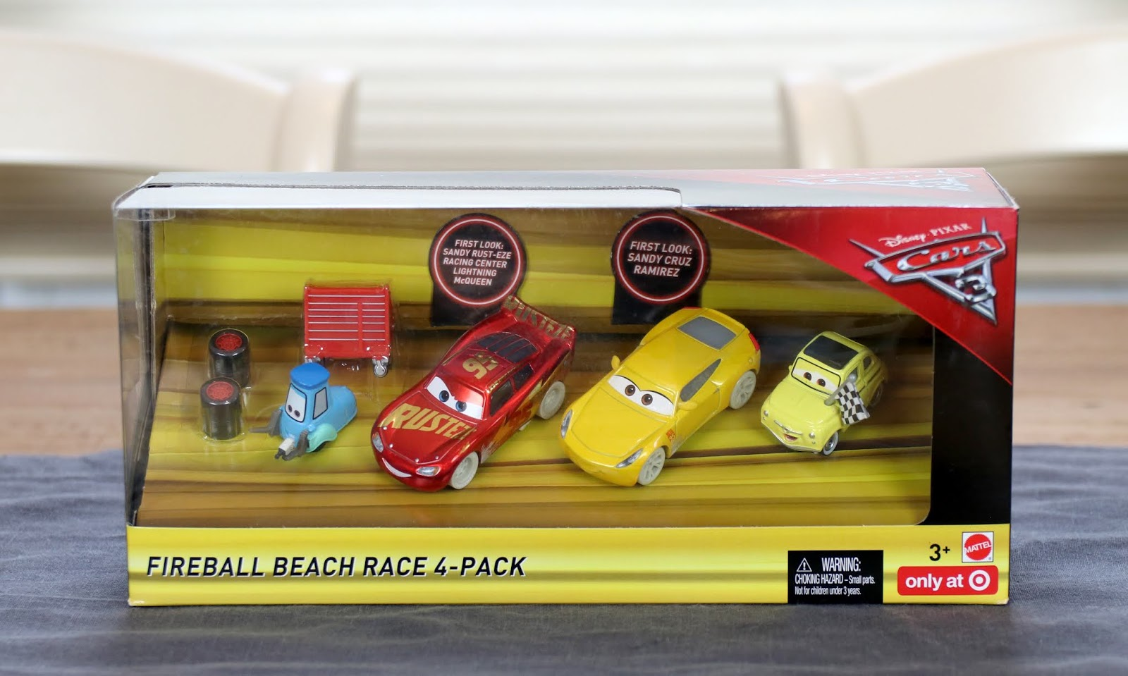 Cars 3 Fireball Beach Race 4-Pack (Target Exclusive)