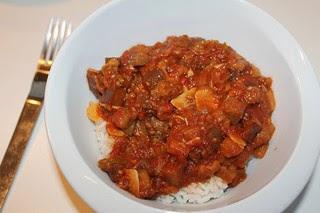 Ragoût de Aubergine Eggplant Stew
