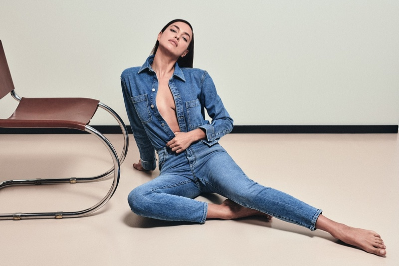 Irina Shayk appears in DL1961 fall-winter 2021 campaign