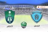 نتيجة مباراة الأهلي السعودي والباطن اليوم 31-01-2021 الدوري السعودي