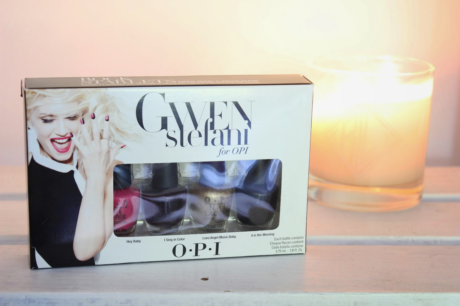 OPI Gwen Stefani Rock Starlet Minis // Swatches & Review
