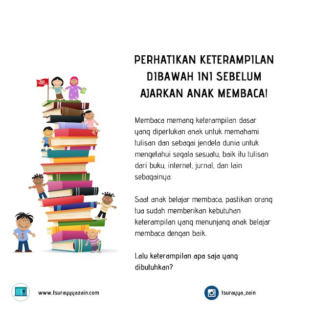 keterampilan membaca anak