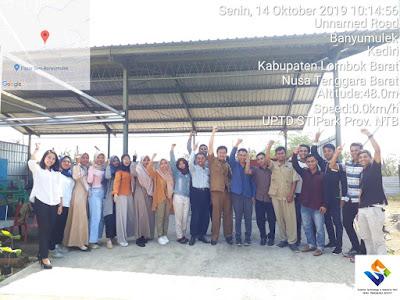 PENGURUS: pengurus STIPark bersama para calon Wirausaha baru