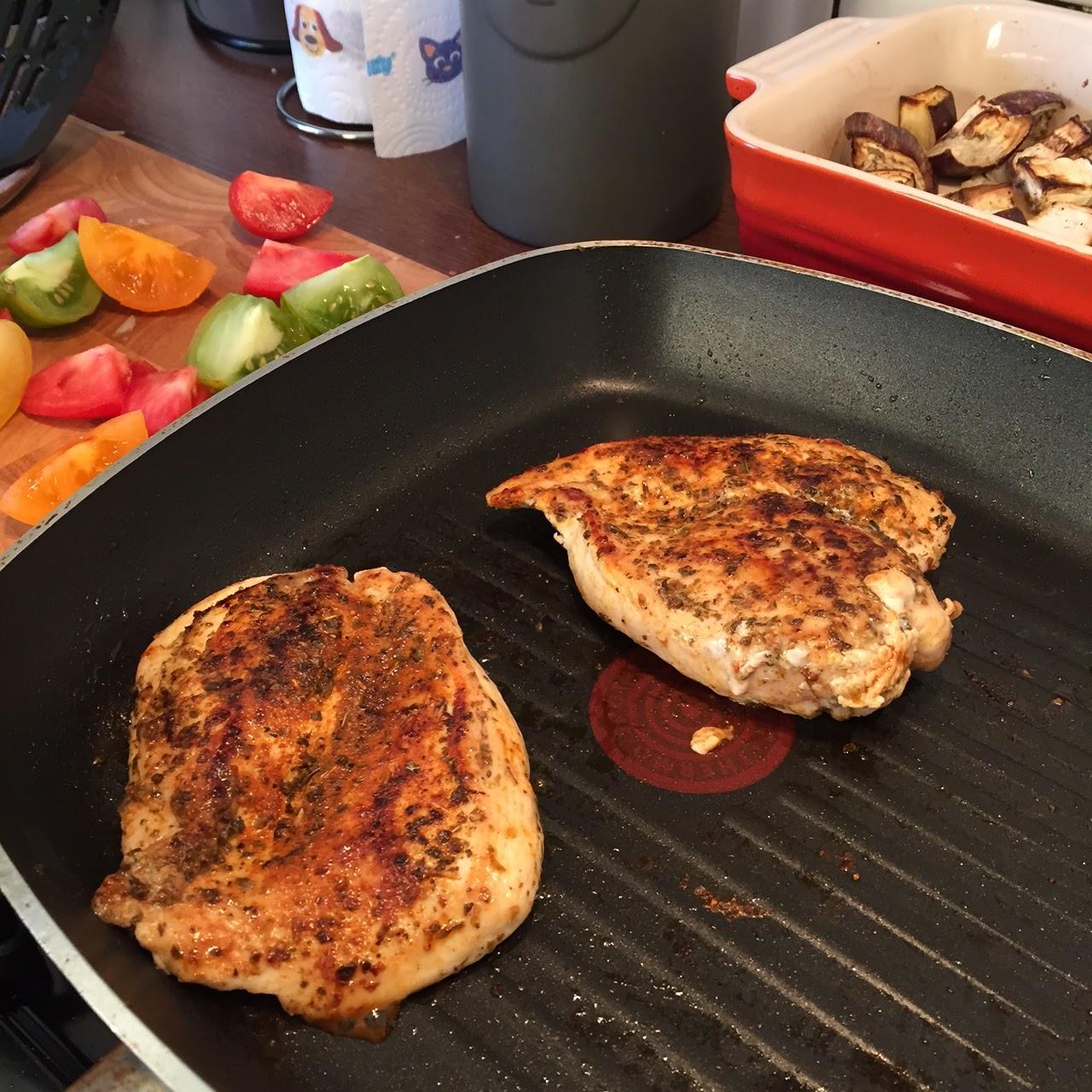 Mediterranean spiced chicken