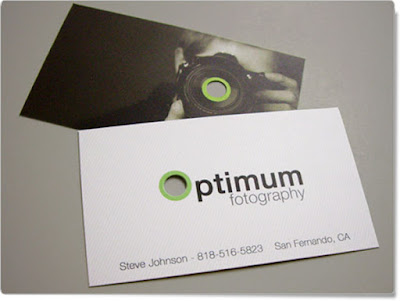 tarjeta presentación fotografo