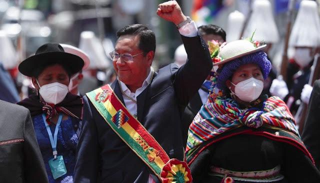 Luis Arce juró como nuevo presidente de Bolivia