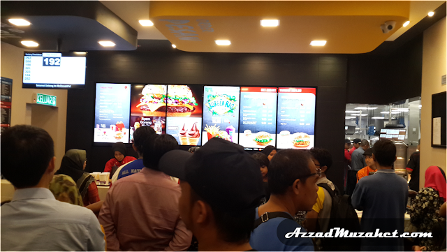 McDonald's Putrajaya Drive-Thru_First_Day