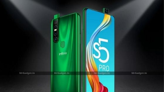 Infinix S5 Pro: Popup Selfie Camera | Full HD+ Display