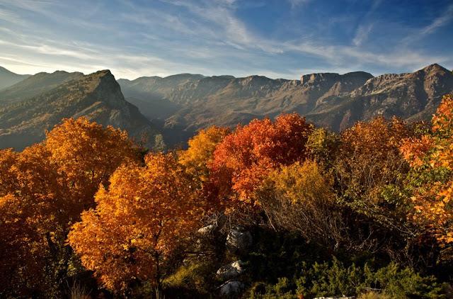 Sulla Balconata di Ormea, per godere dei meravigliosi colori dell'autunno