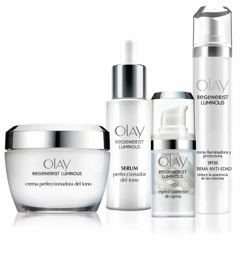 línea de tratamiento facial Regenerist Luminous de Olay